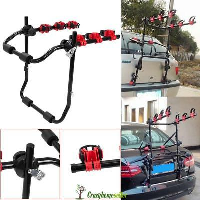 3 Bicycle Bike Car Rear Rack Carrier Tow Ball Mount Tow Bar Hitch Foldable