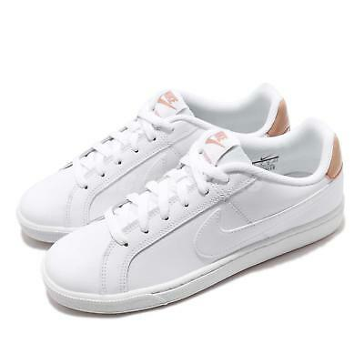 1cd6a78a6a10 Nike Wmns Court Royale White Rose Gold Women Casual Shoes Sneakers  749867-116