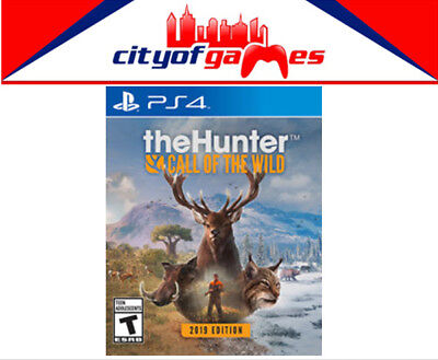 The Hunter Call of the Wild 2019 Edition PS4 Game New & Sealed