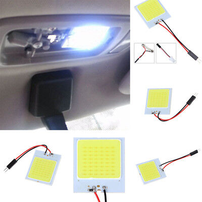 1PC Car T10 4W 48 SMD LED HID Dome Map Light Bulb Interior Panel Lamp Universal