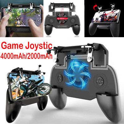 Mobile Phone Gaming Trigger Joystick Handle Controller Gamepad for PUBG AU