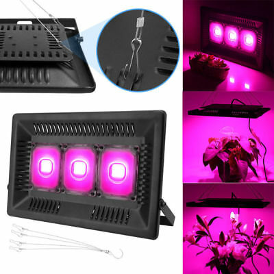 300W COB LED Grow Light Hydro Full Spectrum Veg Flower Indoor Plant Lamp Panel