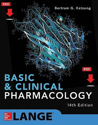 Basic and Clinical Pharmacology 14th Edition by Bertram G. Katzung [PDF]