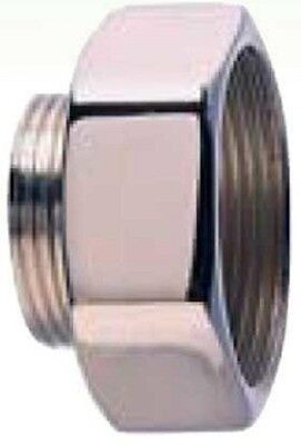 Adaptaflex ENLARGER ADAB/M20-M16/R 20mm Male To 16mm Female, Nickel Plated Brass