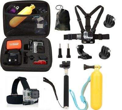 For Gopro go pro hero 3 4 6 5 Session SJCAM Xiaomi yi Accessories set Kit Mount