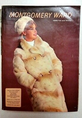 Vintage MONTGOMERY WARD 1966 Fall/Winter Catalog