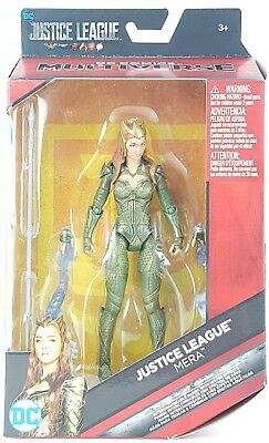 "DC Comics Multiverse Justice League Mera Figure 6"" Kids Playing Toy Gift New"