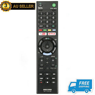 New Replaced RMT-TX300E TV Remote for Sony KD-60X6700E KD-65X7000E KD-70X6700E