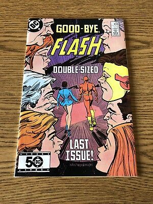 Flash 350 1985 DC NM Giant-sized Final Issue, lead to Crisis on Infinite Earths
