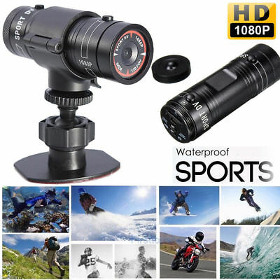 Full HD1080P DV Mini wasserdicht Sport Kamera Helm Bike Action DVR Cam Video NEU