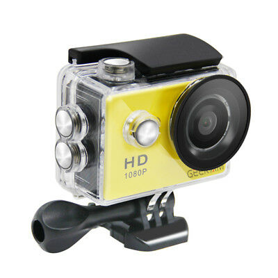 "2,0 ""Sport Action Kamera HD 12MP 1080P wasserdicht für Video-Camcorder draussen"