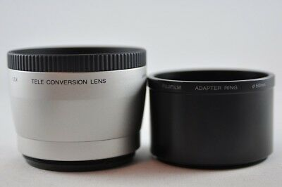 [Used] FUJIFILM 1.5x TELE CONVERSION LENS and 55mm ADAPTER RING