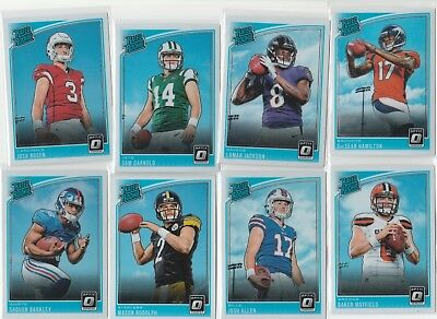 2018 Donruss Optic Football U-Pick Complete Your Set Rated Rookie (150 - 199)