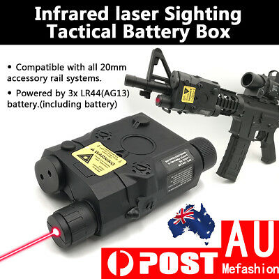 Tactical PEQ15 Battery Box Infrared laser Sighting Function for Gel Ball blaster