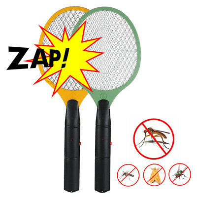 New 1/2/3X Electronic Fly Swatter Mosquito Bug Insect Kill Zapper Racket AU Ship