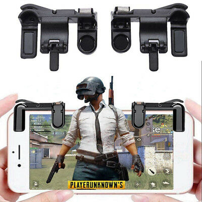 2x L1R1 Shooter Control PUBG Smart Phone Mobile Game Trigger Fire Button Handle