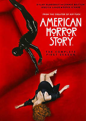 American Horror Story:The Complete First Season (DVD 2012) BRAND NEW W/SLIPCOVER