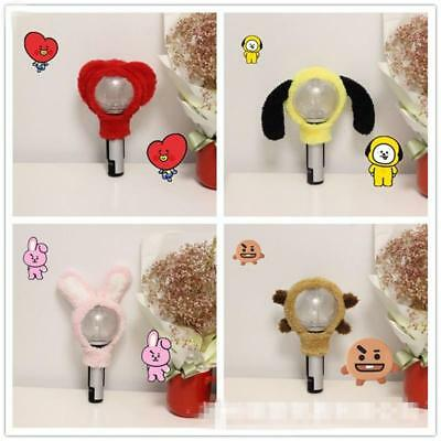 Bangtan Boys KPOP BTS BT21 Chimmy Shooky Light Stick Plush Head Cover LightStick