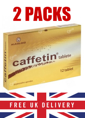 Caffetin FORTE Pain Relief for Headache, Toothache, Migraine 24 tablets UK stock