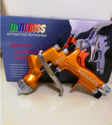 DEVILBISS HD-2 Spray Gun HVLP Gravity Feed Auto Paint For Car Furniture1.3nozzle