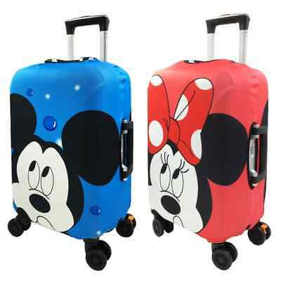 2019 19-32in Elastic Cover Dust Protective Travel Luggage All Size Minnie Mickey
