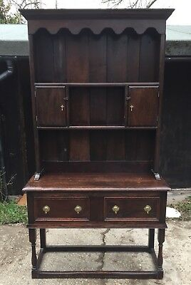 19th Century Solid Oak Dresser.