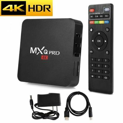 MXQ PRO WIFI Set Top TV Box Media Player 4K S905W Quad Core 1+8G Android 7.1