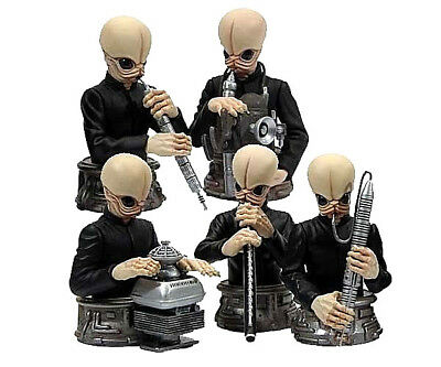 Star Wars CANTINA BAND complete (5) box-set by Gentle Giant