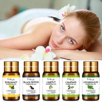 Pure Natural Essential Oils Aromatherapy Essential Oil 5ml Fragrance Aroma