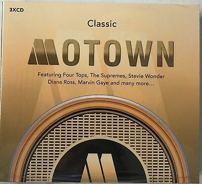Various Artists : Classic Motown CD (3xCD) New Sealed Free UKP&P