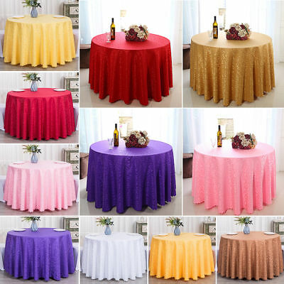 Damask Floral Jacquard Event Party Tablecloths in Various Colours, Shapes, Size