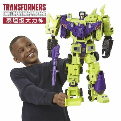 Transformers Hasbro IDW Combiner Wars Devastator 45cm Action Figure New