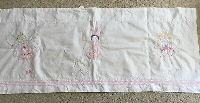 POTTERY BARN KIDS BABY Sweet Fairy Window Valances Girl Nursery