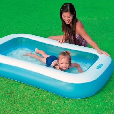 Inflatable Childrens Kids Toddler Infant Garden Swimming Paddling Splash Pool