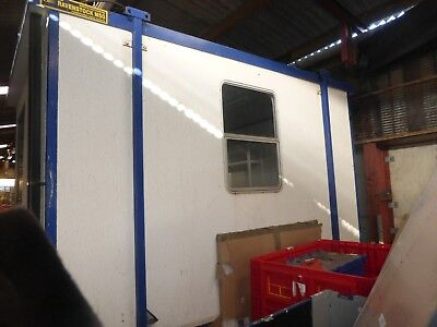 Portable Cabin/Office 370 cm WX 270cm D X256cm H  Used