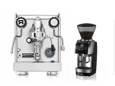 Rocket Appartamento Espresso Machine Coffee Maker & Mahlkonig Vario Grinder Set