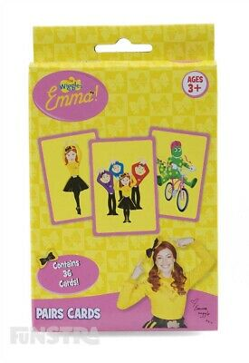 Emma Wiggle Pairs Card Game | The Wiggles Games | The Wiggles Toys