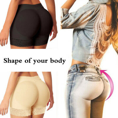 Lady Padded Butt Lift Hip Up Panty Brief Knicker Shaper Booty Enhancer Underwear