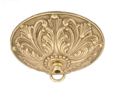 Victorian Lace ~ Antique Brass { Cast Brass } Ceiling Light Canopy Kit ~ #Cc801