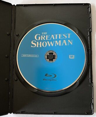 The Greatest Showman (Blu-ray disc ONLY + Blank Case) NEVER VIEWED! SEE DETAILS!