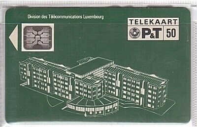 Luxemburg - PS01 Chipcard SC5 SN17105 - Used/Usagée Luxe