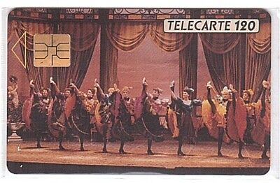 Monaco - Chip Phonecard - MF11 - French Cancan - Used/Usagée