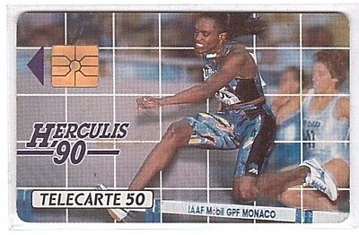 Monaco - Chip Phonecard - MF6 - Herculis 90 - Used/Usagée