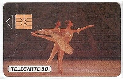 Monaco - Chip Phonecard - MF8 - Ballets de Monté-Carlo - Used/Usagée