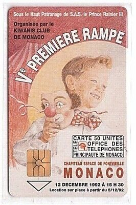 Monaco - Chip Phonecard - MF26 - 5e Rampe du Cirque - Used/Usagée