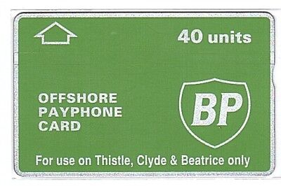 UK - BP Thistle, Clyde & Beatrice 40 Units SN 201K  - Used/Usagée