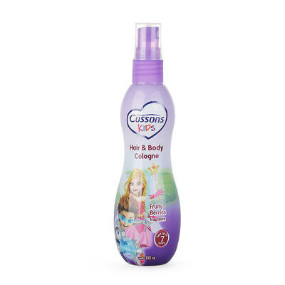Cussons Kids Children Hair and Body Cologne Fresh Aroma - Fruity Berries 100ml