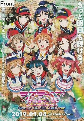 Love Live! Sunshine!! The School Idol Movie Over the Rainbow PromotionalPoster A
