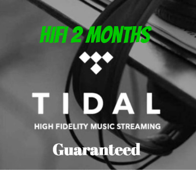 TIDAL HiFi Family Plan ACCOUNT 2 MONTHS SUBSCRIPTION Fast DELIVERY WORLDWIDE