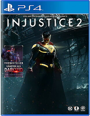 Injustice 2 (Sony PlayStation 4) Ps4 Deutsch Neu In OVP Game Spiel